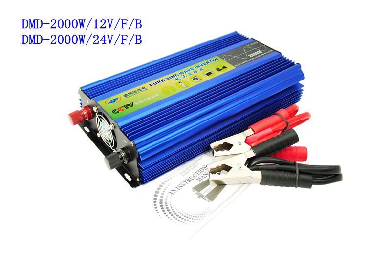 德姆达逆变器厂家批发纯正弦波2000W逆变器电源