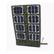 供应24W折叠便携太阳能应急充电器