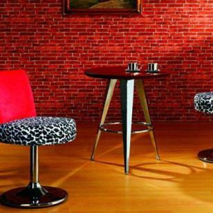 皮面金属酒吧椅真皮高档酒吧椅图片