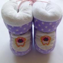 供应可爱宝宝棉鞋批发保暖宝宝鞋可松紧图片