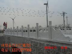 供应草白玉石栏杆供应商图片