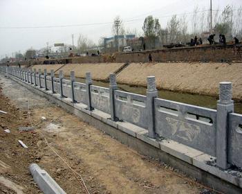 供应河道石栏杆价格图片