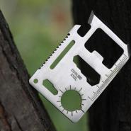 多用途工具卡救生卡11功能刀卡图片