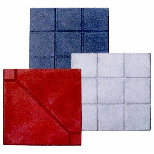 大小方格砖磨石砖人行道彩砖原图高清图片