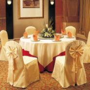 酒店椅裙椅套台布桌布13621384359图片