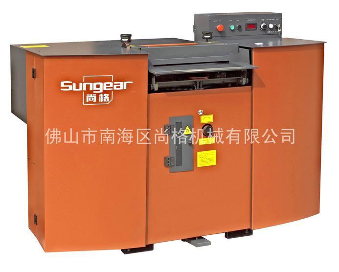供应PET板材片皮机_PET材料剖层机—尚格机械