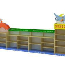 供应幼儿园小飞象玩具柜/幼儿园儿童家具/自由个性组合玩具柜