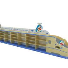 供应幼儿园和谐号玩具柜/幼儿园儿童家具/列车造型玩具柜