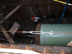 供应防腐环保玻璃钢压力大口径管道图片