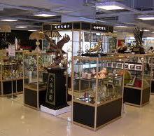 供应常州工艺品瓷器展示柜