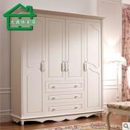 大森林家具卧室韩式田园实木衣柜图片