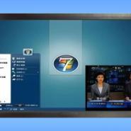候车厅新闻信息电视电脑一体机图片