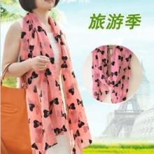 新款韩国女士围巾,空调雪纺长围巾批发,夏季旅游围巾定做,义乌合美服饰