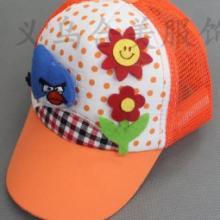 愤怒的小鸟童帽鸭舌帽网帽 儿童帽子批发  童帽鸭舌帽网帽厂家定做