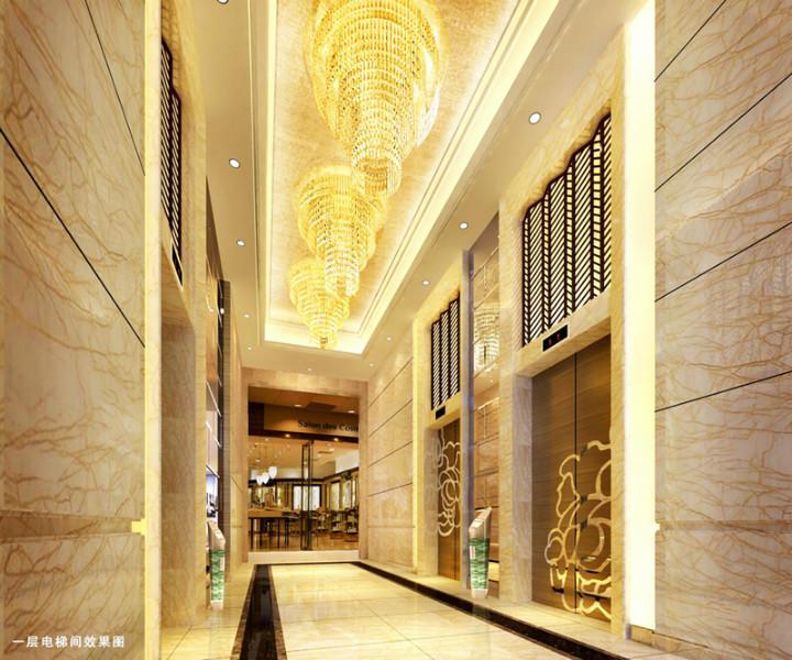 益阳市五星级酒店客房装修成本 酒店客房价格 广美装饰公司 高清图片