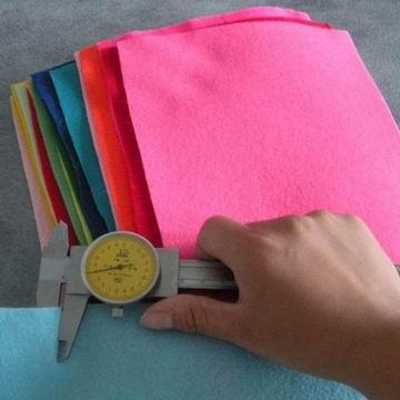 生产彩色化纤毛毡厂家 澳达