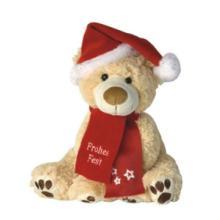 供应圣诞泰迪熊布绒娃娃/毛绒娃娃