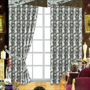 高档卷帘电动窗帘济南窗帘品牌垂直图片