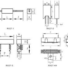 厂价供应水泥线绕电阻器RX27-1-1W(SQP)图片