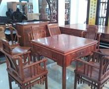 供应东阳红木家具 杜邦木雕红木家具之麻将桌