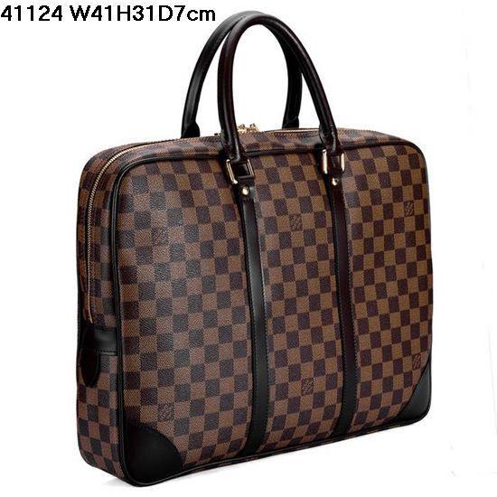 男士手提包供应商/生产供应lv包包男士手提包n41124