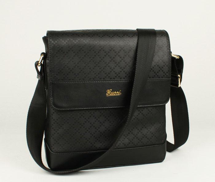 gucci古琦182072黑色全皮包包