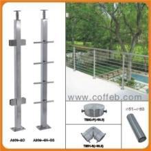 供应不锈钢楼梯扶手栏杆护栏立柱批发