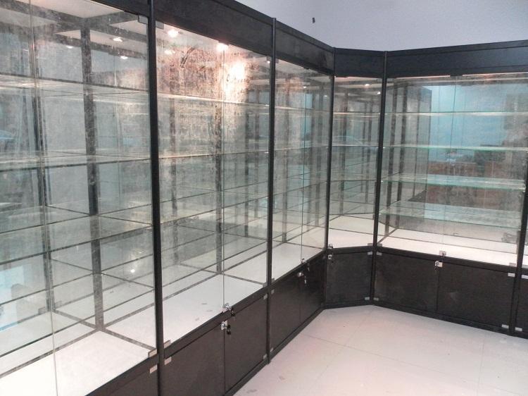 兰州钛合金展柜展示柜图片图片