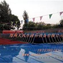 郑州大风车游乐设备有限公司框架水池图片