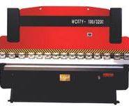 4x2500剪板机63t/2500折弯机冲床图片
