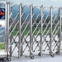甘肃创金泽门业不锈钢伸缩门质量好,价格低,款式多,欢迎来电洽谈。
