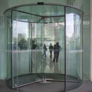 甘肃水晶旋转门,兰州创金泽自动门款式新颖品质保证,价格优惠。