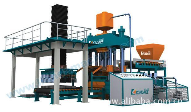 供应QYJ-8000型全自动双缸液压成型机