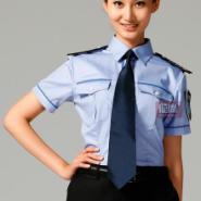 房地产售楼处女保安制服套装图片