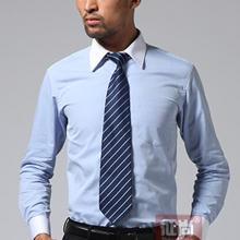 供应高端定制男士修身正装衬衫