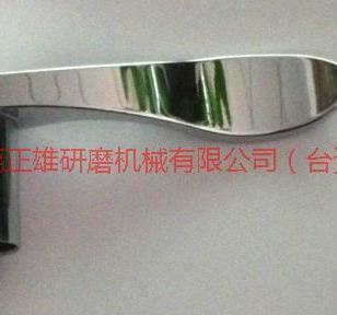 锌铝合金门把手系列产品振动抛光机图片