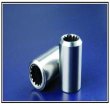 供应用于水暖五金的内花齿套管挡水阀套管不锈钢冷打批发
