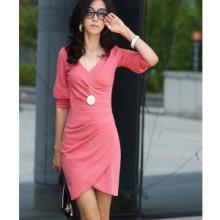 小疯歌韩版新款中高档外贸女装夏季连衣裙修身显瘦小礼服