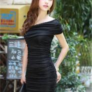 韩版夏季新款中高档外贸女装连衣裙图片