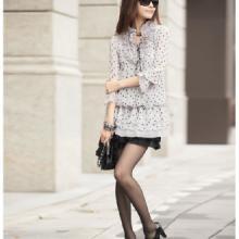 2013春装新款女装衬衫韩版大码雪纺上衣长款长袖雪纺衫夏装新款批发