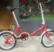 正宗美国大行折叠自行车16寸UP510图片
