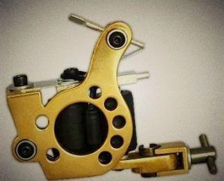 供应哈尔滨杰刺纹身机jc-000b黄铜打雾