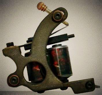 供应哈尔滨杰刺纹身机jc-020c青铜磨砂图片