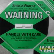100G绿色震动警示器SHOCKWATCH图片