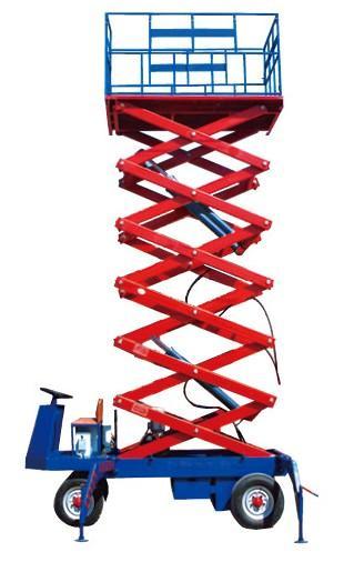 供应自行液压升降平台液压升降机升降升降设备升降货梯施工升降机导轨图片