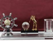 水晶奖杯水晶奖牌水晶笔筒图片