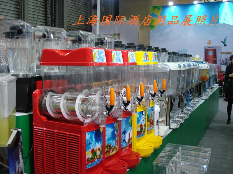 果汁机图片 果汁机样板图 大圆缸缸冷饮机果汁机PL 50L 厨...