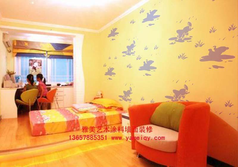 博白钦州液体墙纸家庭酒店装修图片_博白钦州