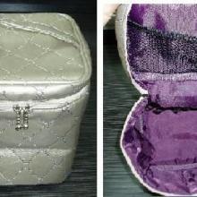 供应生产仿皮首饰包/涤纶化妆包/杂物包材质可选