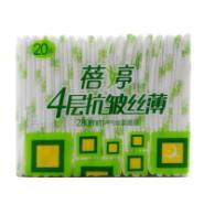 蓓婷4层抗皱丝薄卫生巾280mm棉面图片